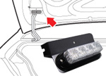 LED TRUNK MOUNT LIGHT KIT