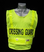 CROSSING GUARD SAFETY VEST - MADE IN USA
