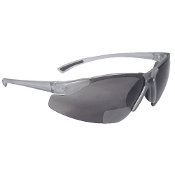 BI-FOCAL SAFETY GLASSES - SMOKE