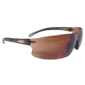 BI-FOCAL SAFETY GLASSES -  COFFEE (BROWN TINT)