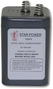 STAR RECHARGEABLE 6 VOLT BATTERY